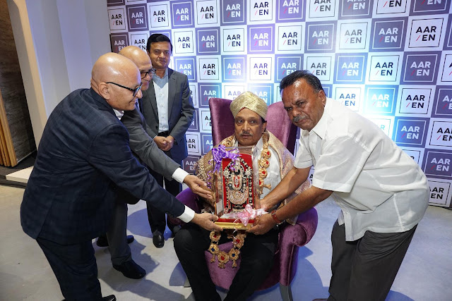 Felicitation to Minister Krishnappa