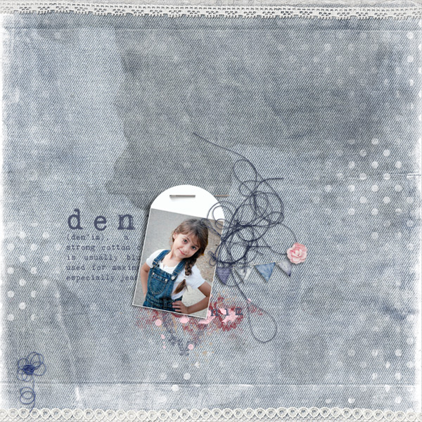 denim © sylvia • sro 2017 • denim & lace • collab by krystal hartley, on a whimsical adventure & studio basic