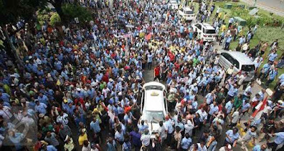 Demo Taksi Berujung Anarkis