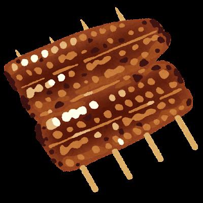 うなぎの蒲焼のイラスト