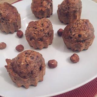 goldandgreen muffin choco-noisette healthy recette