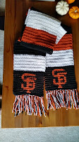 SF Giants Scarf and Beanie