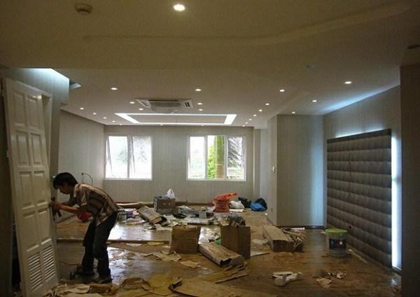 dịch vụ sơn sửa lại căn hộ trọn gói giá rẻ tại tphcm