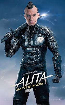 Alita Battle Angel Rosa Salazar Movie Poster 13