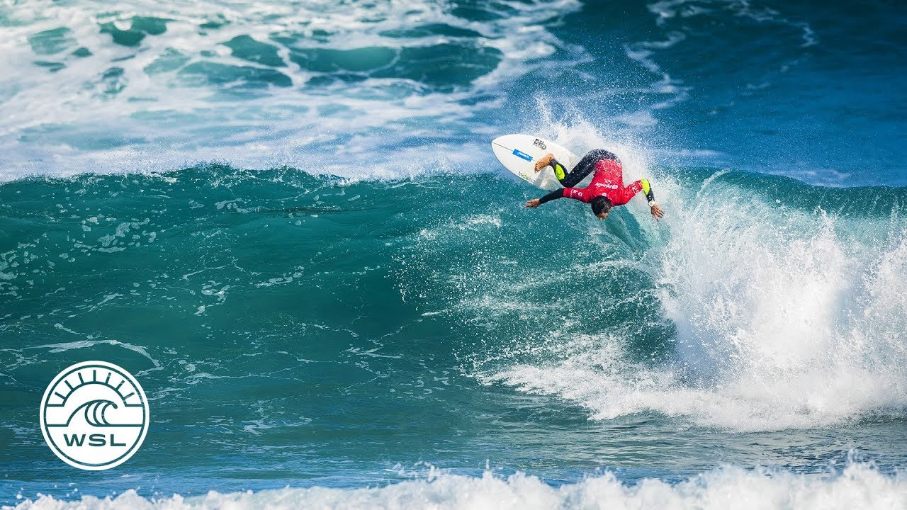 2018 Pro Zarautz Highlights QS Stars Take Over on Day 2