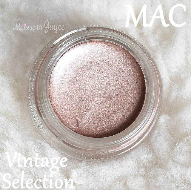 Mac Pro Longwear Paint Pot Vintage Selection Review Dupe