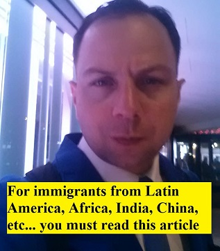 For immigrants from Latin America, Africa, India, China and activists you must read this article