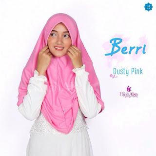 Hijab Alsa Berri Dusty Pink