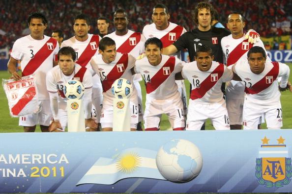 Formación de Perú ante Chile, Copa América 2011, 12 de julio