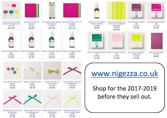 Stampin' Up! In Colours 2017-2019