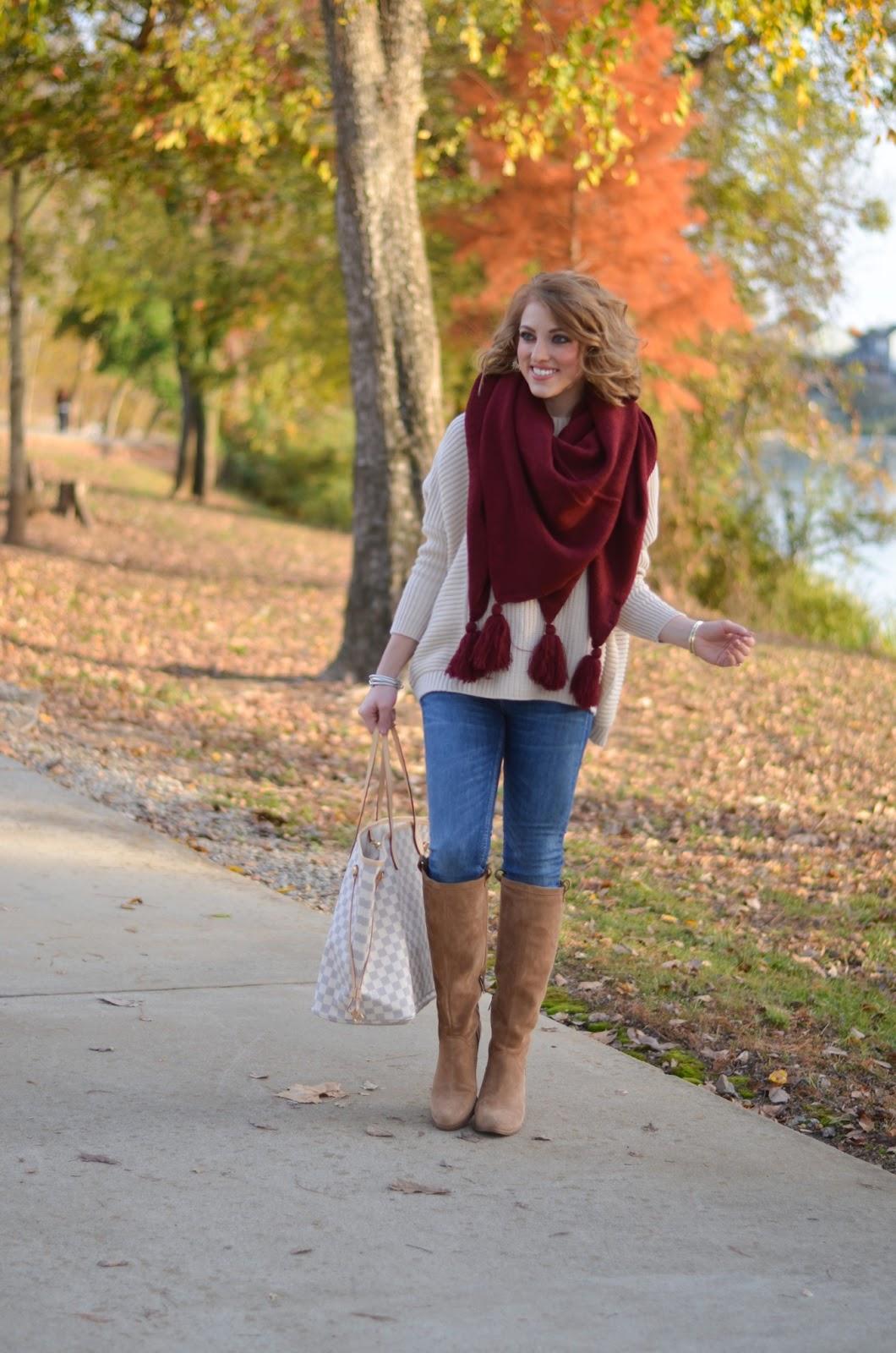 Scarf Style - Something Delightful Blog