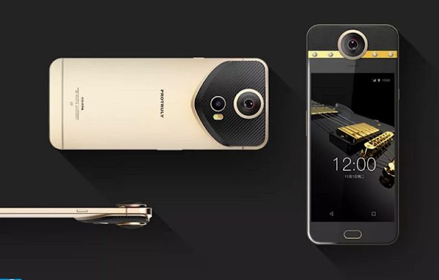Perkenalkan Protruly Darling, Smartphone dengan Kamera 360 Derajat