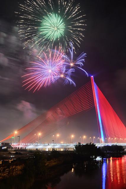 Đà Nẵng tổ chức bắn pháo hoa dịp tết Dương lịch và Âm lịch 2019