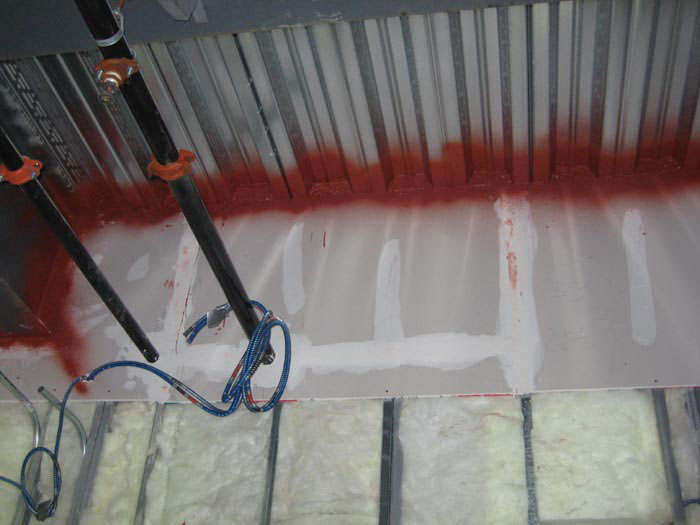 Firestop Material Untuk Shaft Dan Lubang Kabel