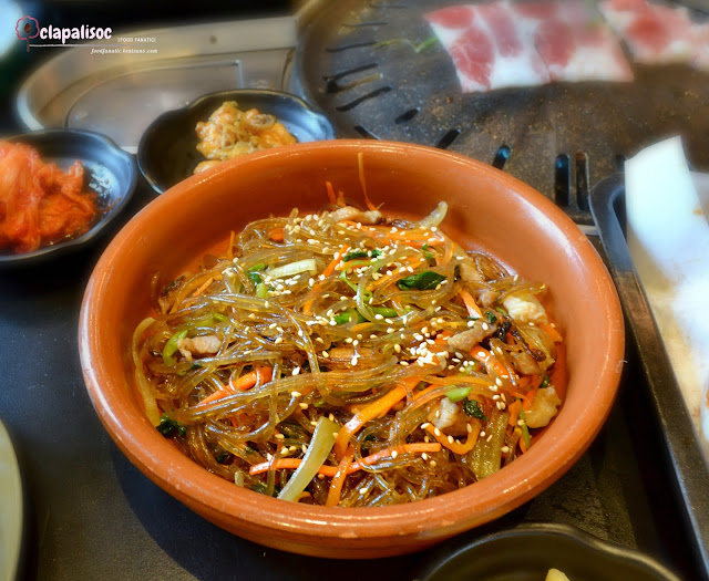 Japchae from Soban K-Town Grill