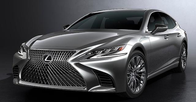 2018 Lexus LS Design