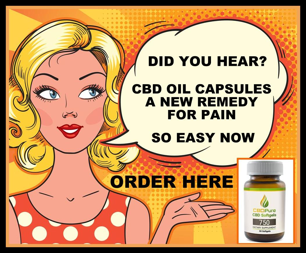 CBD OIL CAPSULES NOW AVAILABLE