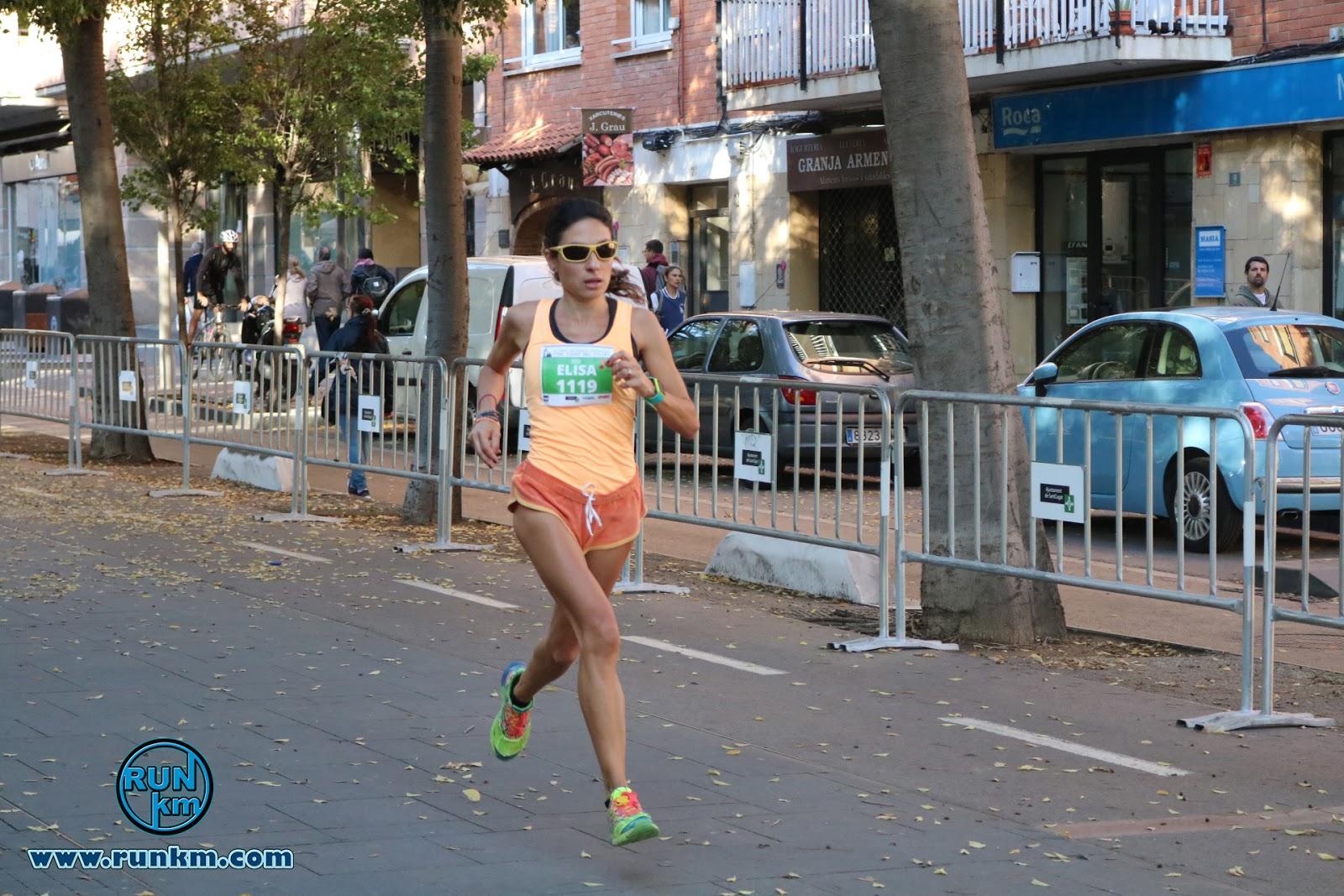 Elisa Melilli vencedora de la IX Cursa DIR Mossos d'Esquadra