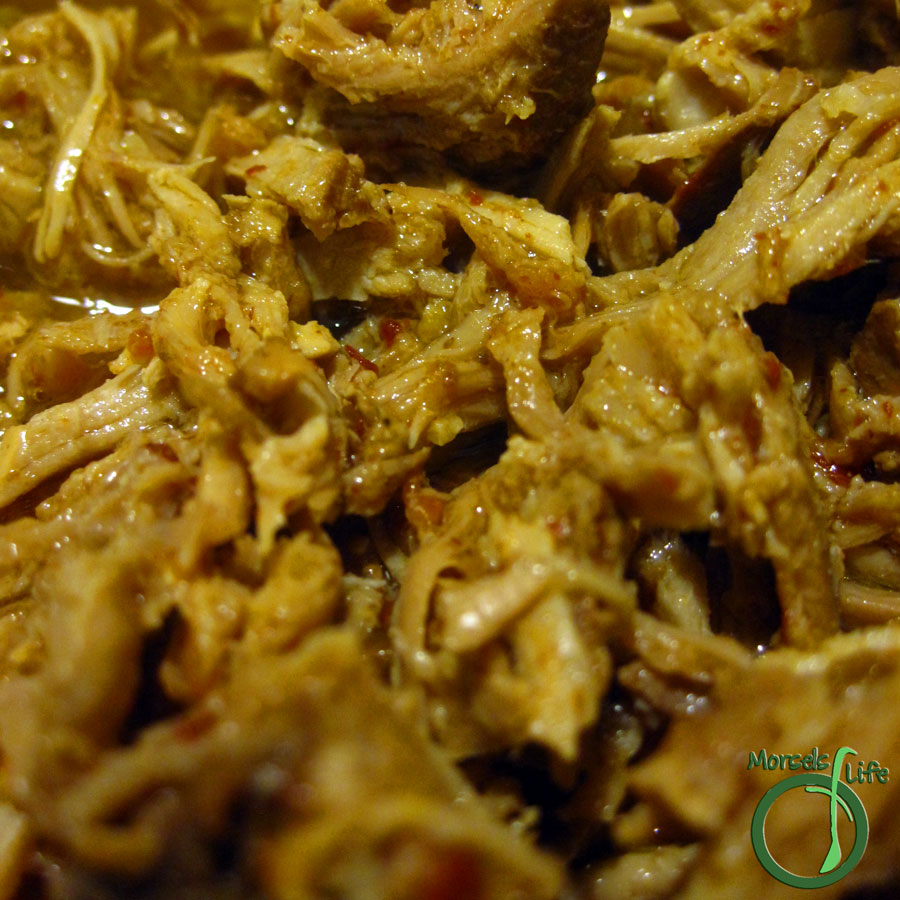 Morsels of Life - Slow Cooker Pulled Pork - A succulent and flavorful North Carolina-style pulled pork.