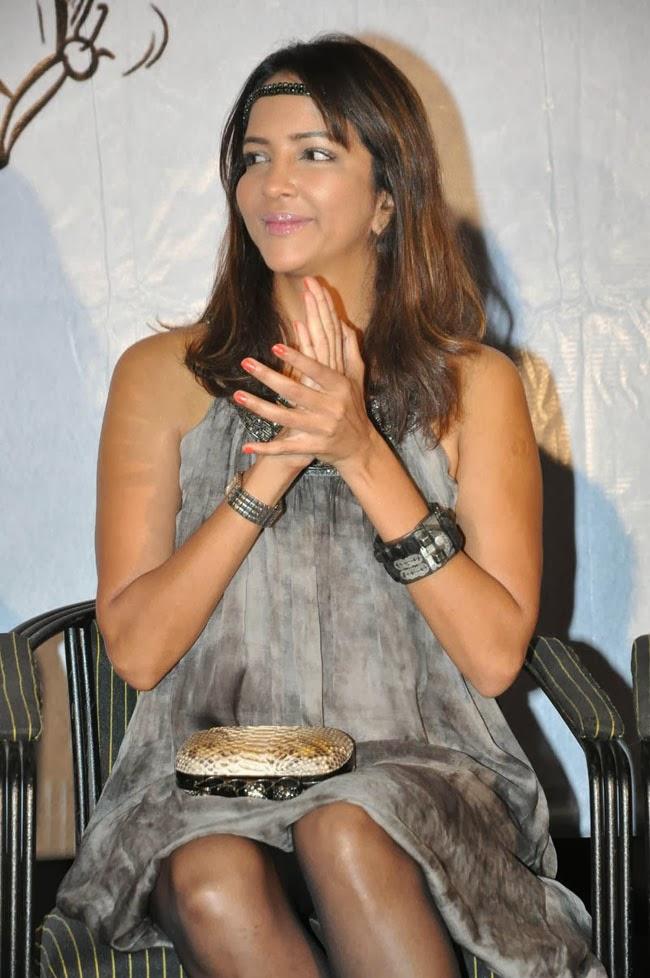 lakshmi Manchu photos in short dress
