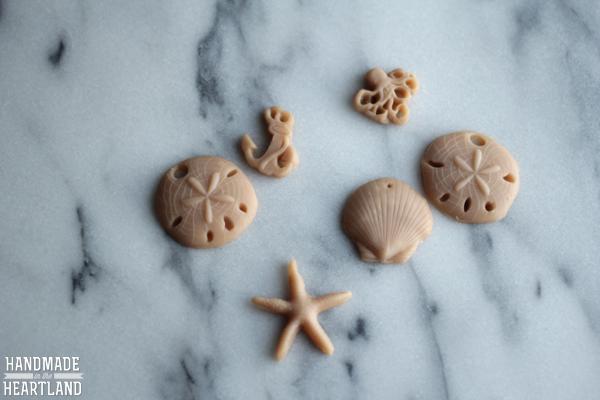 DIY Polymer Clay Sand Dollar Necklace Tutorial