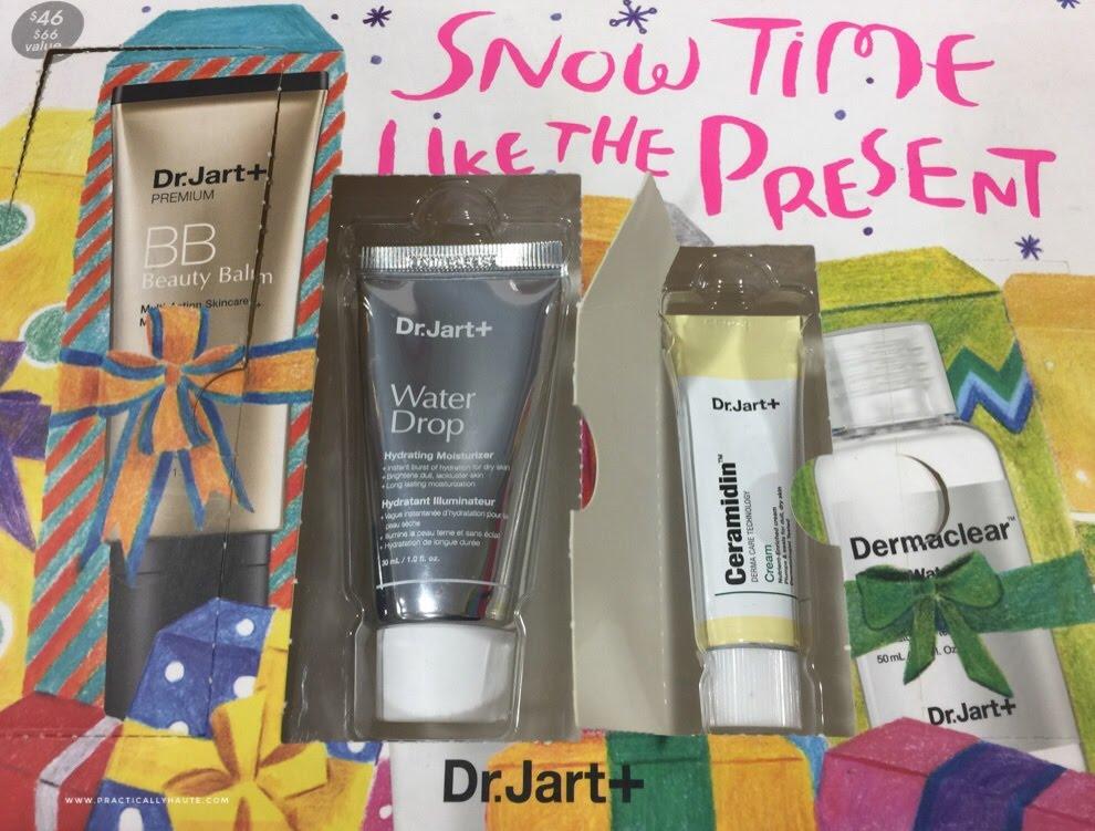 Dr. Jart+ sample sale Holiday 2016 Balm skincare kbeauty set
