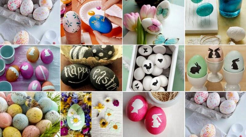 Βάψιμο πασχαλινά αυγά