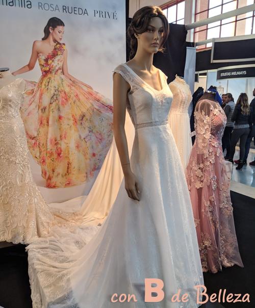 Vestido novia de Manila Granada