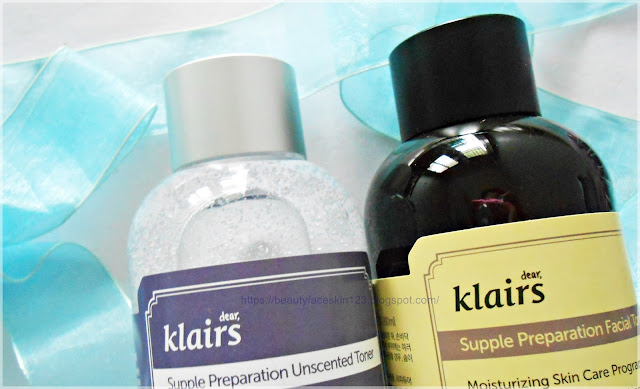 Klairs Supple Preparation Facial Unscented Toner vs Klairs Supple Preparation Facial Toner