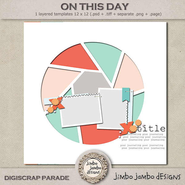 Jimbo Jambo Designs - Digiscrap Parade