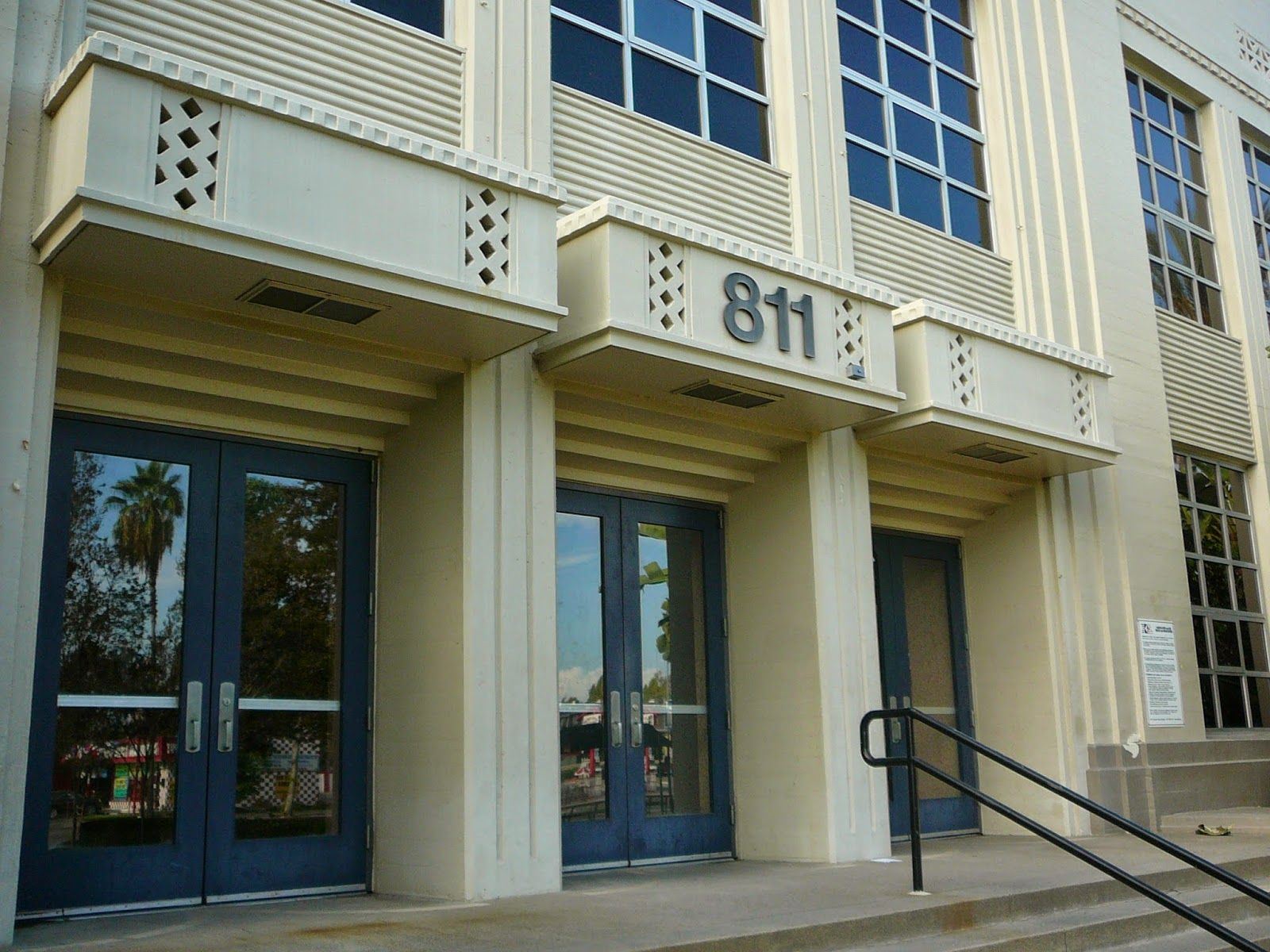 Orange county structure art deco architecture at anaheim - What is art deco style ...