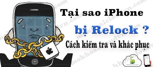 iPhone bị Relock