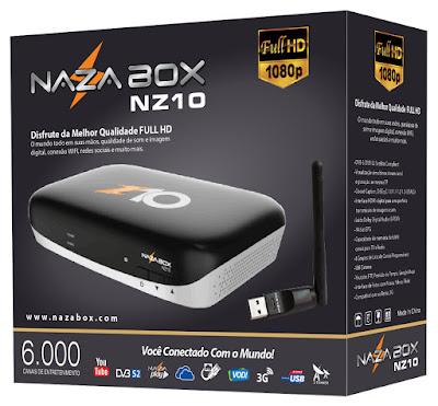 NAZABOX NZ10 NOVA ATUALIZAÇÃO V2.24 Nz10a