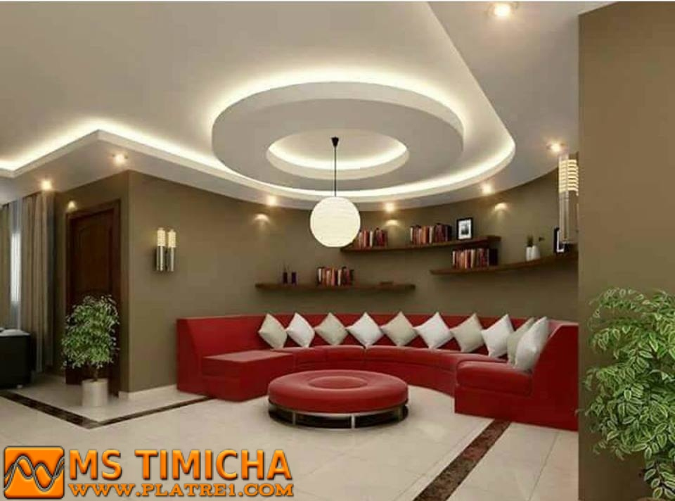 Decoration Platre 2016 : Decor salon maroc ms timicha