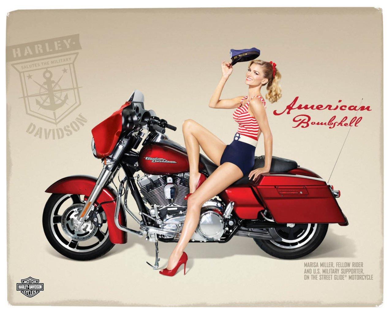 Harley Davidson: Il Mio Guardaroba: Harley-Davidson E Marisa Miller