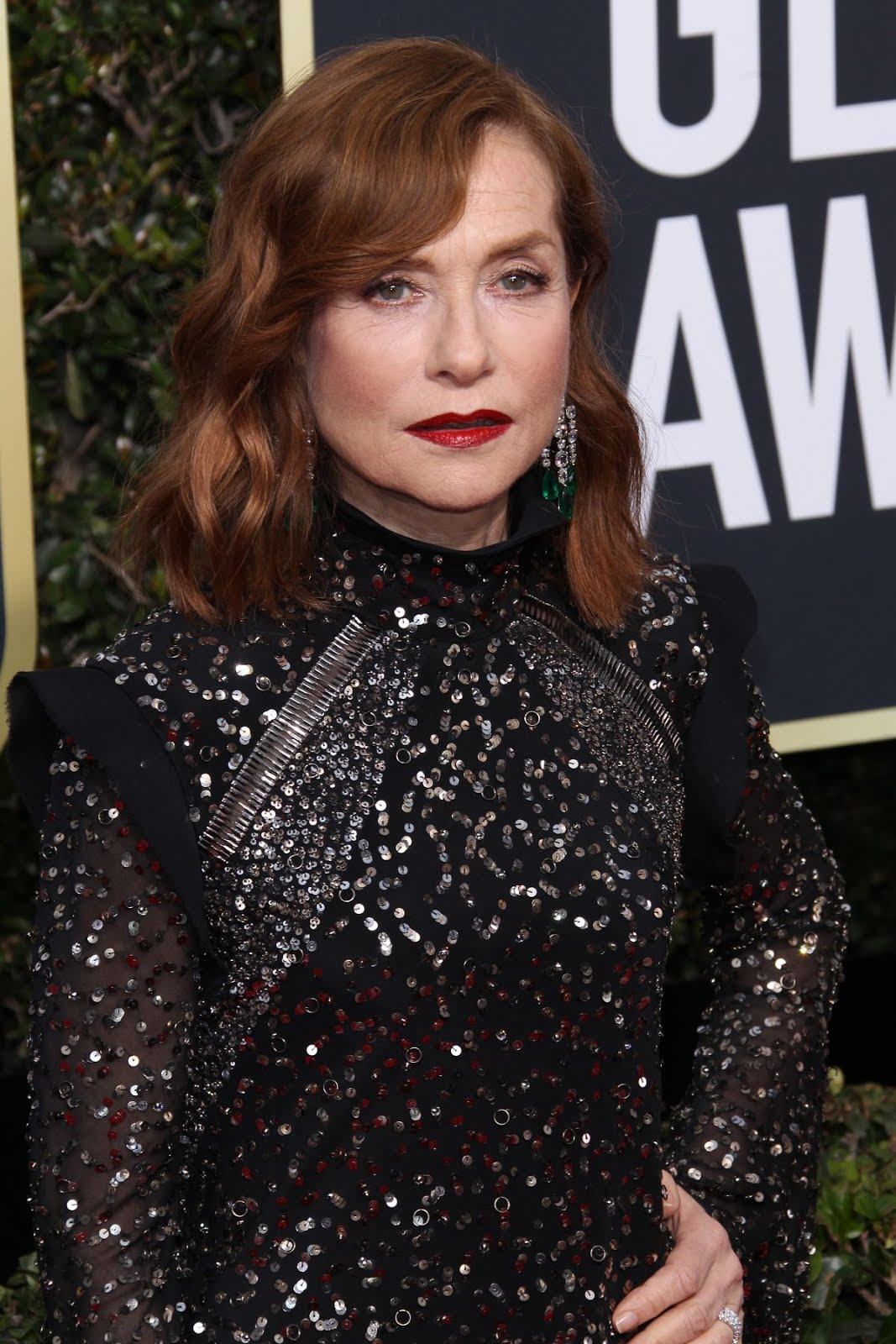 See pics of Isabelle Huppert 75Th Annual Golden Globe Awards Beverly Hills 2018