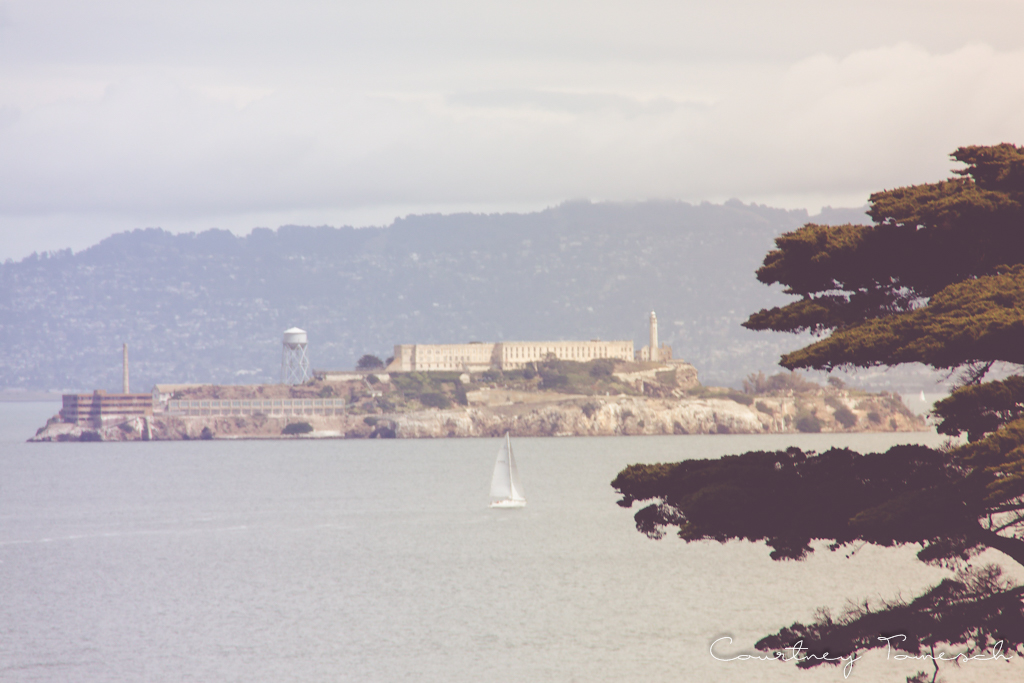 Courtney Tomesch San Francisco California Alcatraz Island