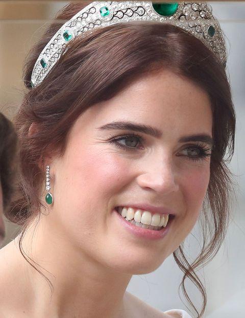 Princess Eugenie wedding look and makeup,  hair  beauty