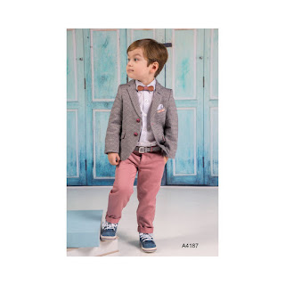 baptism suit for boys in classic style