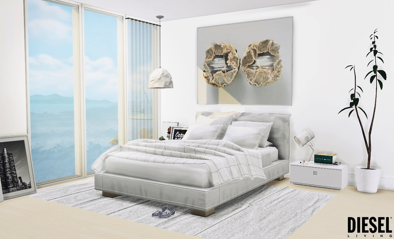 My sims 4 blog diesel bedroom set by mxims for 3 bedroom set