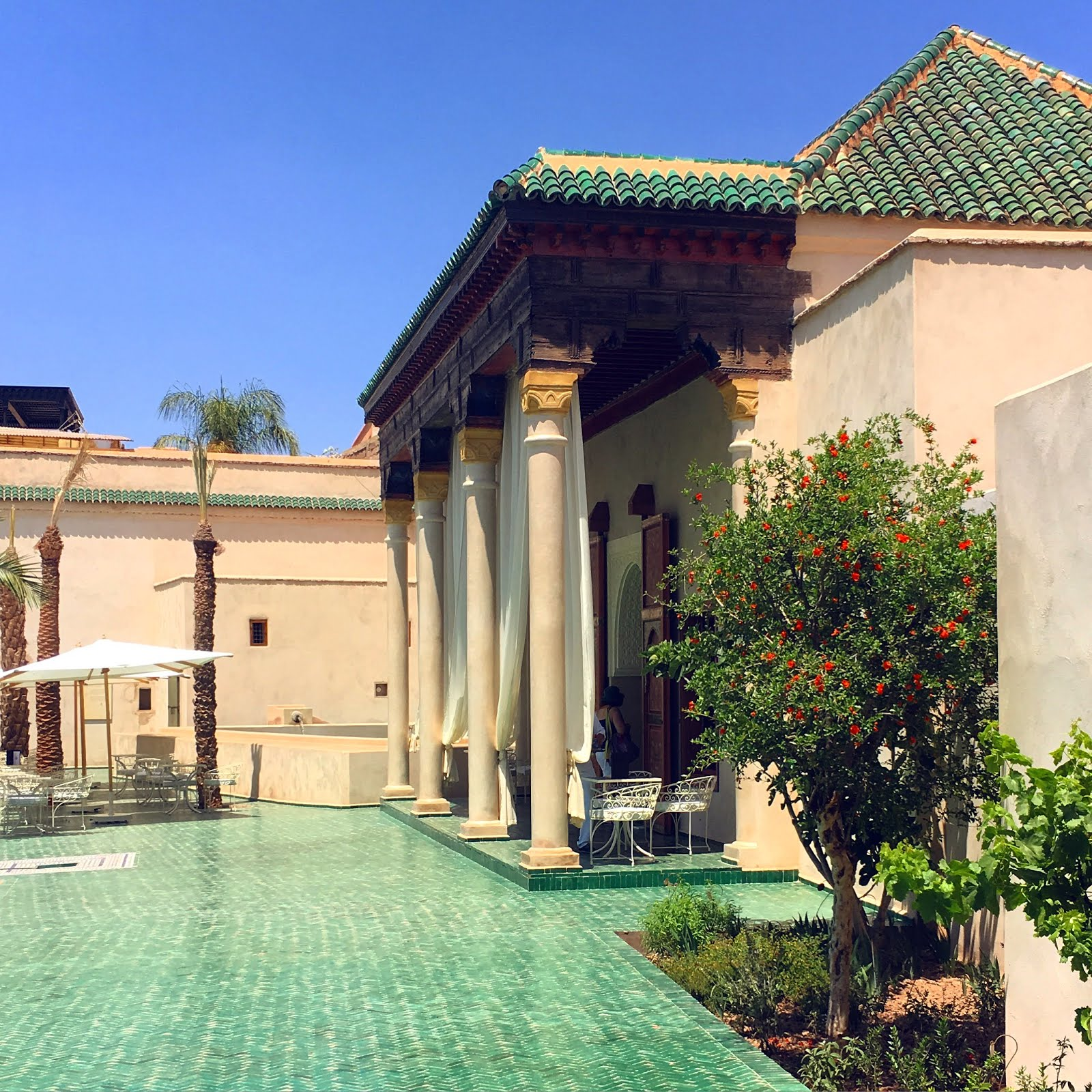 Marrakech shopping tour for hot days for Cafe le jardin marrakech