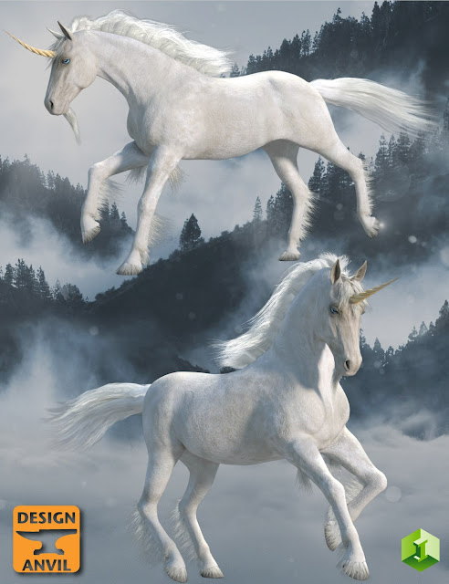 DA Unicorn for Daz Horse 2