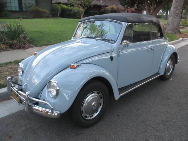 1967 VW Bug Convertible Restored