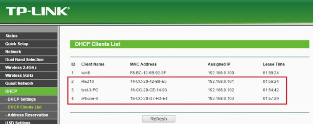 Make a check MAC Address