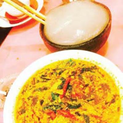 Papeda makanan khas Pulau Seram Maluku