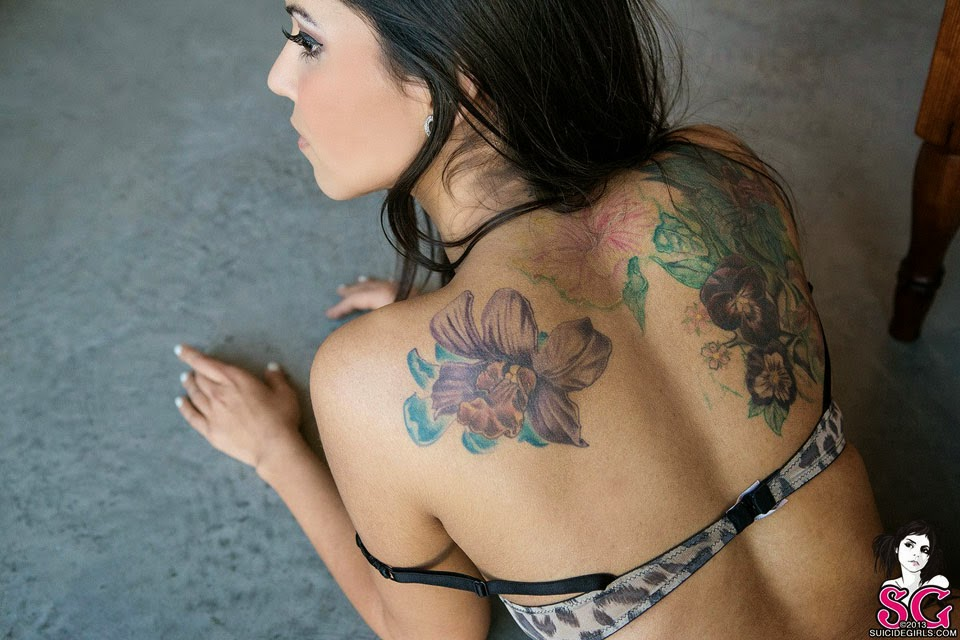 Glitz Suicide - Sexy Tattooed Girls Female Models With Tattoos