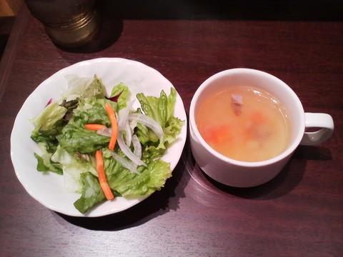 サラダ・スープ いきなりステーキリーフウォーク稲沢店