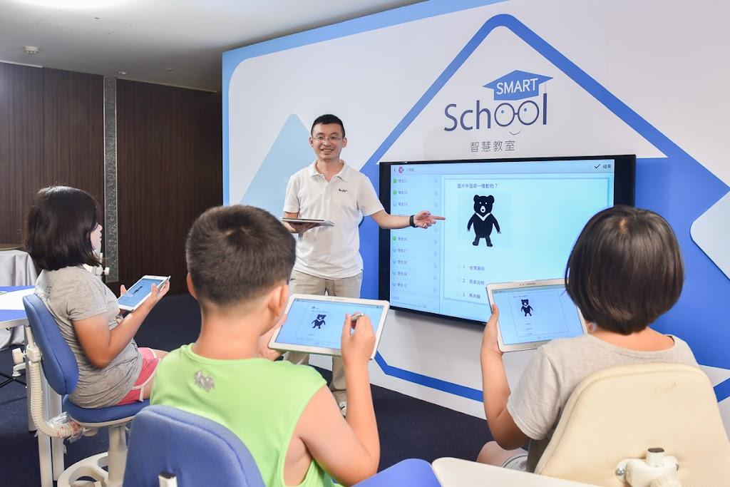 台灣三星推智慧教室,串連15所小學開課