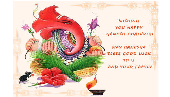 Happy Ganesh Chaturthi 2016 wishesh