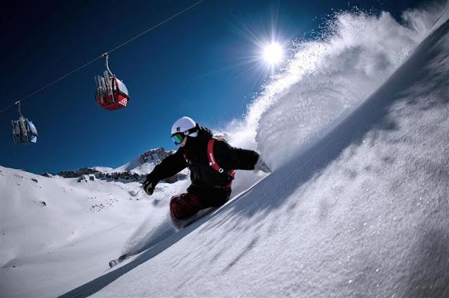 Esquiar em Santiago no mês de junho
